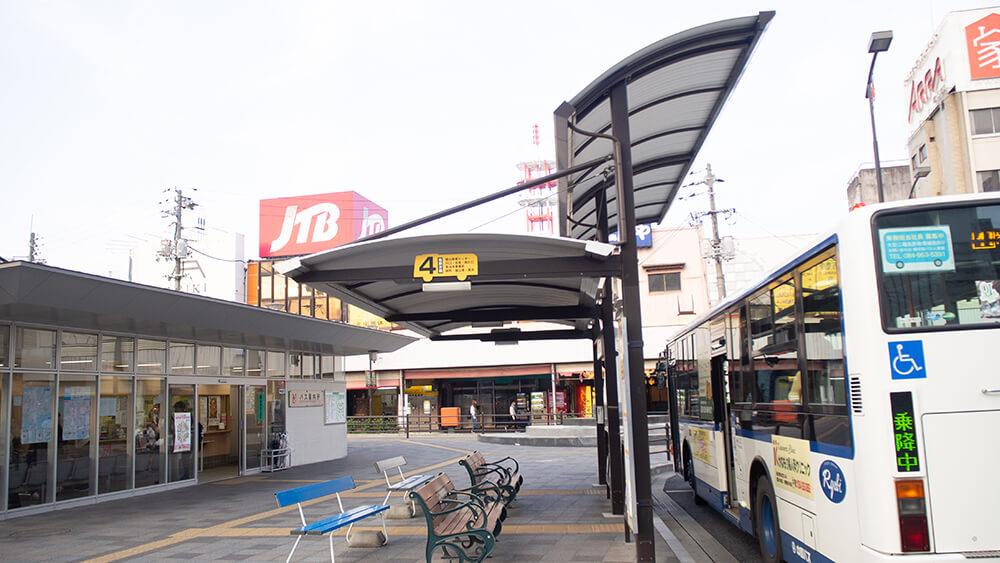 福山駅前4番乗り場